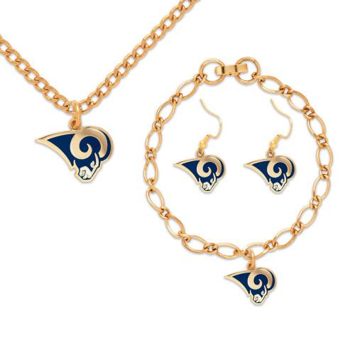 Los Angeles Rams Jewelry Gift Set