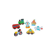Wooden Vehicles Gift Bag by The Toy Workshop