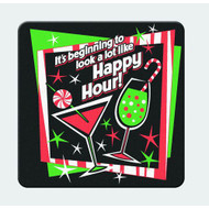 It's beginning to look a lot like Happy Hour! Coaster Set