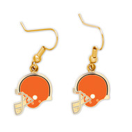 Cleveland Browns Helmet Dangle Earrings NFL