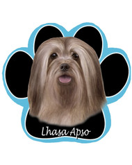 Lhasa Apso Dog Paw Mouse Pad