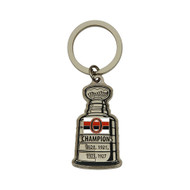 Ottawa Senators Stanley Cup Keychain