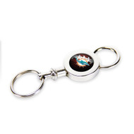 Miami Dolphins Quick Release Valet Keychain