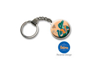 University Of Florida Double Domed Keychain