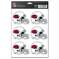 Arizona Cardinals 6-Pack Magnet Set