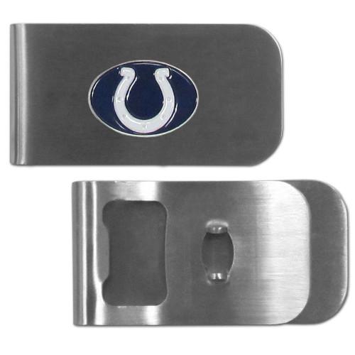 Indianapolis Colts Money Clip Bottle Opener