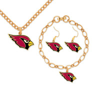 Arizona Cardinals Jewelry Gift Set