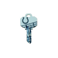 Indianapolis Colts Schlage SC1 House Key