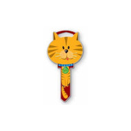 Cat Kwikset KW1 House Key