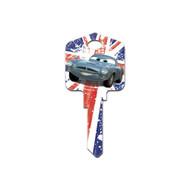 Cars Finn & Francesco Disney Pixar Kwikset KW1 House Key