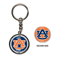 Auburn University Spinner Keychain (WC)