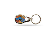 Orlando Magic Oval Keychain