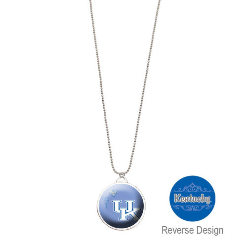 University of Kentucky Double Dome Necklace