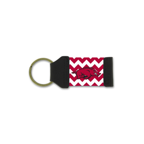 University of Arkansas Chevron Keychain