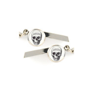 Skull Safety Whistle Keychain