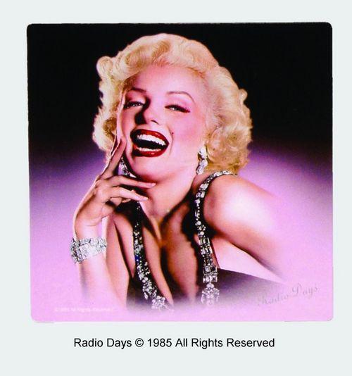 Marilyn Monroe Radio Days Magnet