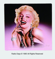 Marilyn Monroe Radio Days Magnet