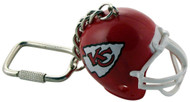 Kansas City Chiefs Helmet Keychain