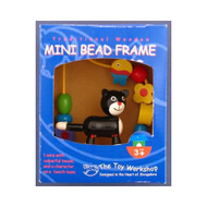 Wooden Mini Cat Bead Frame by The Toy Workshop