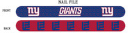 New York Giants Nail File