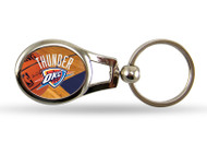 Oklahoma City Thunder Oval Keychain