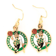 Boston Celtics Dangle Earrings
