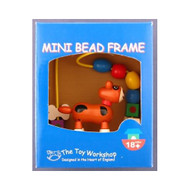 Wooden Mini Dog Bead Frame by The Toy Workshop