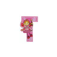 Self Adhesive Wooden Fairy Letter T by The Toy Workshop