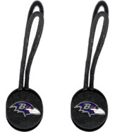 Baltimore Ravens Zipper Pull (2-Pack)