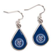 New York City FC Tear Drop Earrings