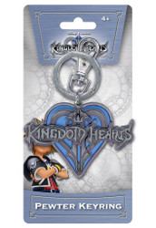 Kingdom of Hearts Logo Pewter Keychain