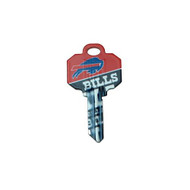 Buffalo Bills Schlage SC1 House Key