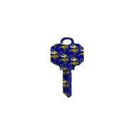 Minnesota Vikings Schlage SC1 House Key