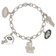 New York Jets Charm Bracelet