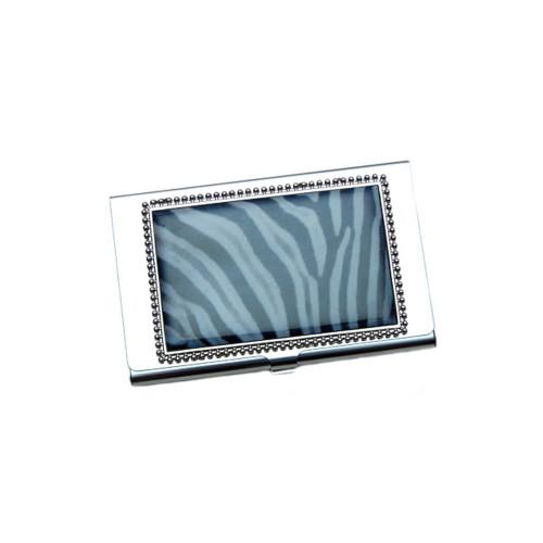Zebra Business Card ID Case