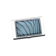 Zebra Business Card ID Case