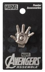 Iron Man Hand Pewter Lapel Pin
