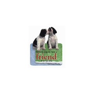Springer Spaniel Puppies Die-Cut Wit & Wisdom Magnet