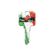 Cars Finn & Francesco Disney Pixar SC1 House Key