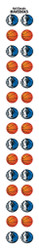 Dallas Mavericks Nail Sticker Decals