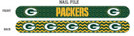 Green Bay Packers Nail File