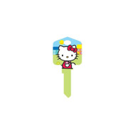 Hello Kitty Green Schlage SC1 House Key