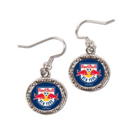 New York Red Bulls Round Earrings