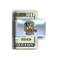 New Orleans Saints Pewter Emblem Money Clip