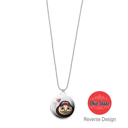 Ohio State University Double Dome Necklace
