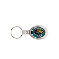 Jacksonville Jaguars Domed Metal Key Chain