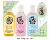 Ohio State University 4pc Baby Gift Set