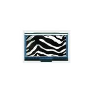 Zebra Print Business Card ID Case