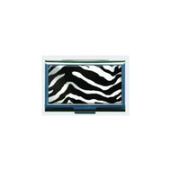 Zebra Print Business Card ID Case