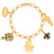 New Orleans Saints Charm Bracelet